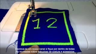 Como ajustar a máquina de costura para fazer pontos acetinados