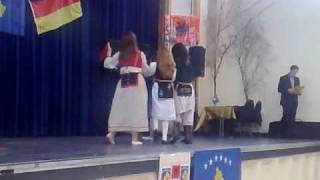 Pavarsia ne Coesfeld: Saranda,Edona,Nora,Valtrina edhe Leona aus Bocholt po vallzojn