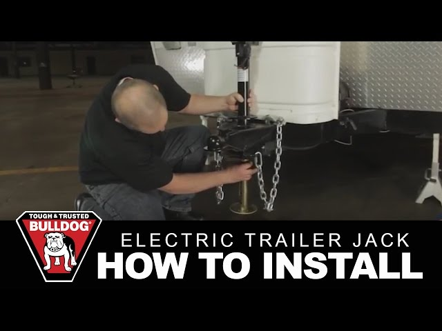 bulldog power jack wiring diagram wiring diagramhow to install a bulldog electric trailer jack youtubebulldog power jack wiring diagram 12