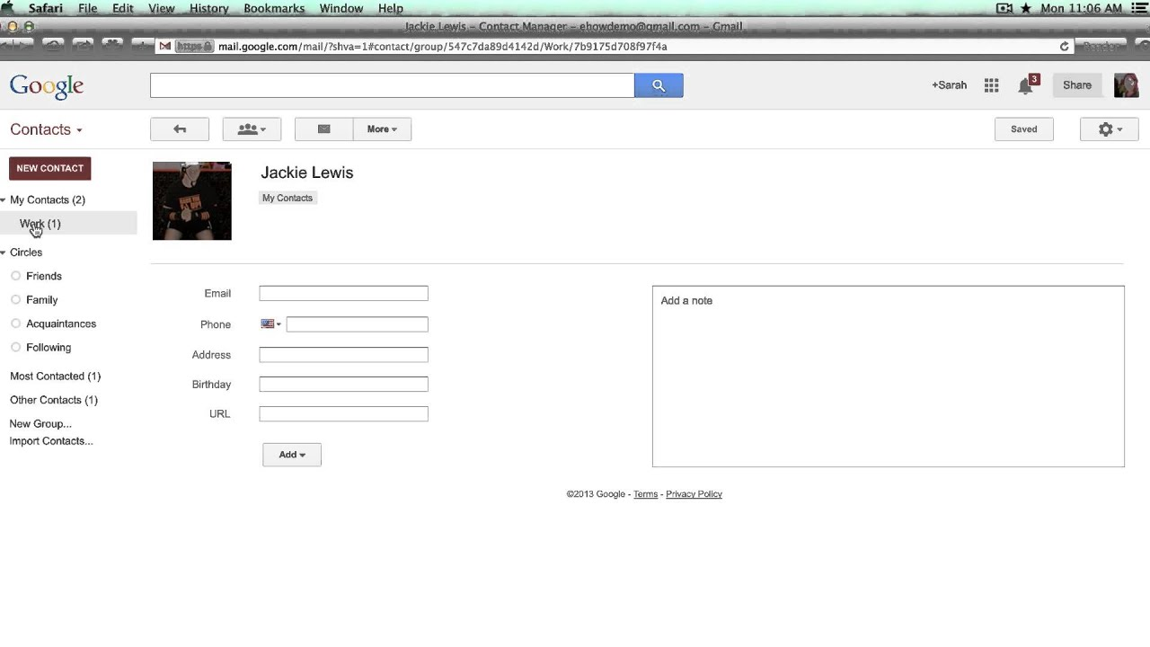 How to Edit Groups in Gmail Contacts : Internet Tech Tips ...