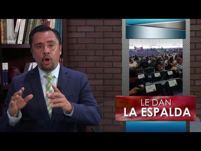 Michoacán le da la espalda a Cristobal Arias