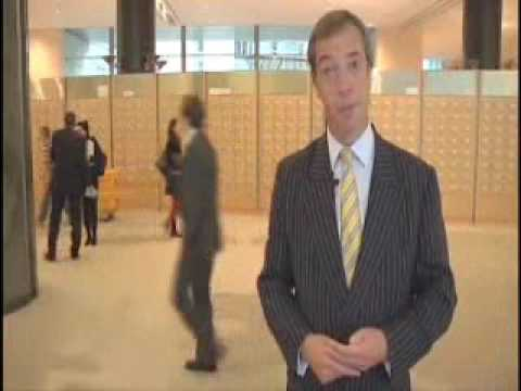 South East Region - UKIP MEP Nigel Farage Profile 2009