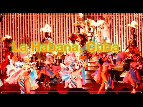 "Cabaret ""Parisien"" en Hotel Nacional de CUBA - キューバ 魅惑のキャバレー""エル・パリジャン""での夜"