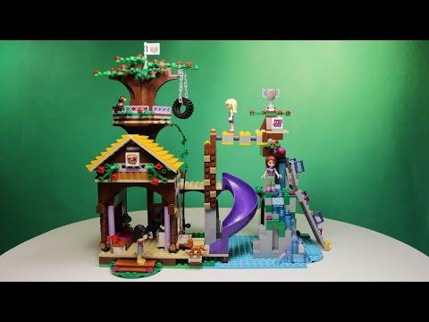 Lego Freinds - Adventure Camp Tree House,41122/ Лего Френдс - Спортивный Лагерь: Дом На Дереве.