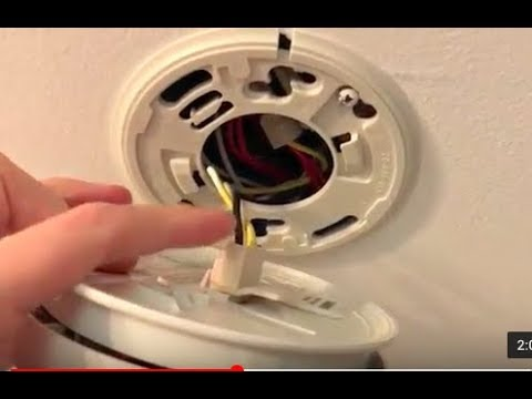 How To Properly Safely Remove Smoke Detector Alarm Fast Easy