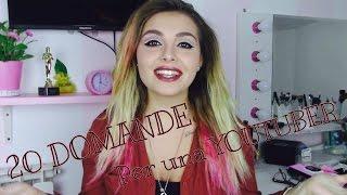 20 DOMANDE per una YOUTUBER  Video tag