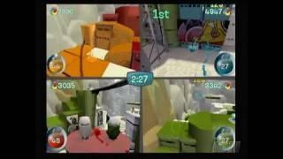 de Blob Nintendo Wii Video - 4-Player Split