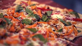 Grilled Vegetable Pizza Recipe || Kin Eats