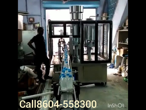 Water bottle factory very small setup and very low investment and high income