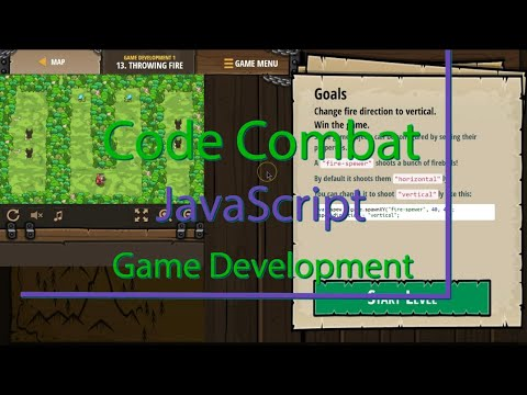 CodeCombat Throwing Fire Level 13 Game Development Tutorial with Answers in JavaScript thumbnail