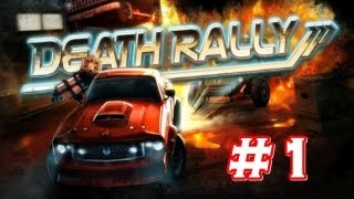 Death Rally PC ( 2012 ) Gameplay #1  ( 1080p )