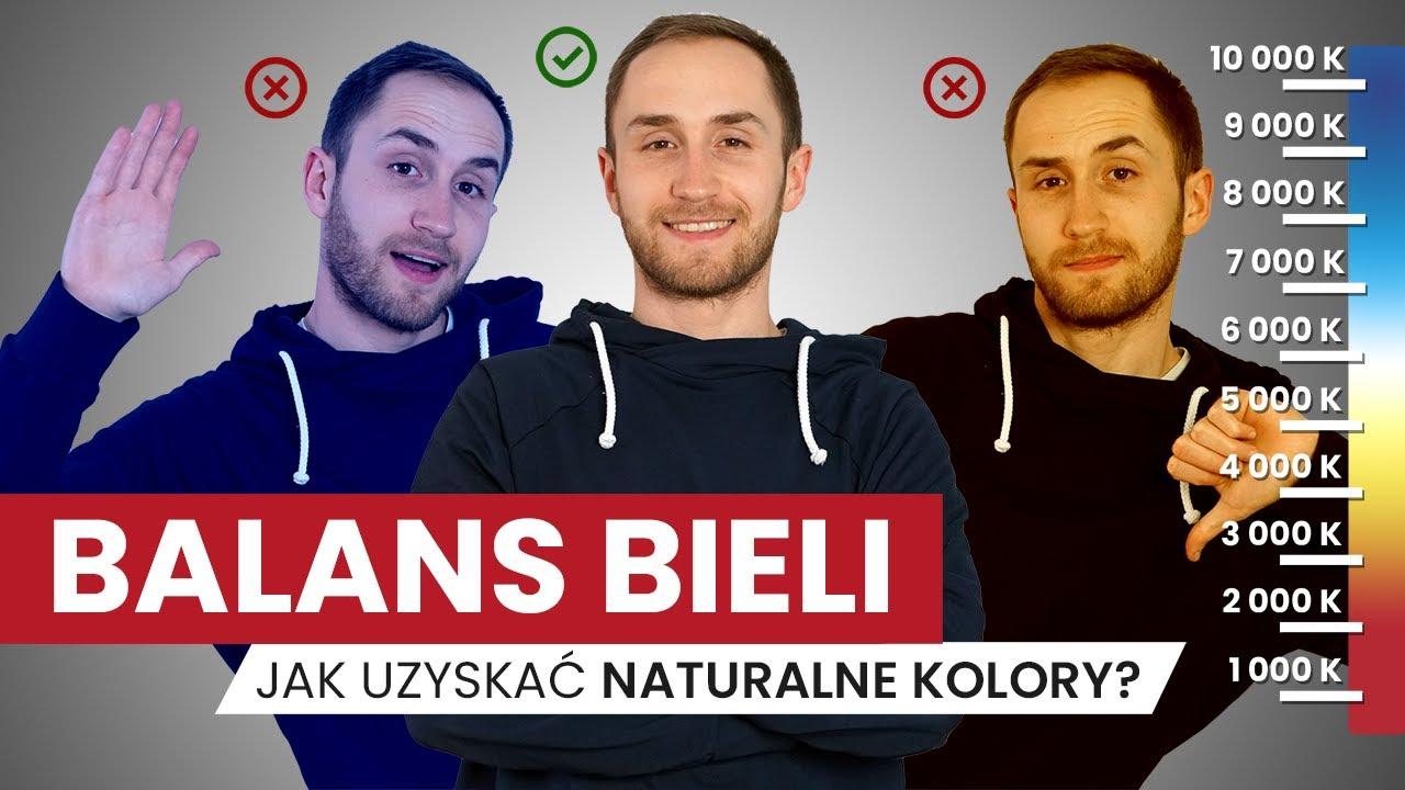 Balans Bieli w aparacie - jak ustawić? POPRAW KOLORYSTYKĘ swoich filmów i zdjęć!