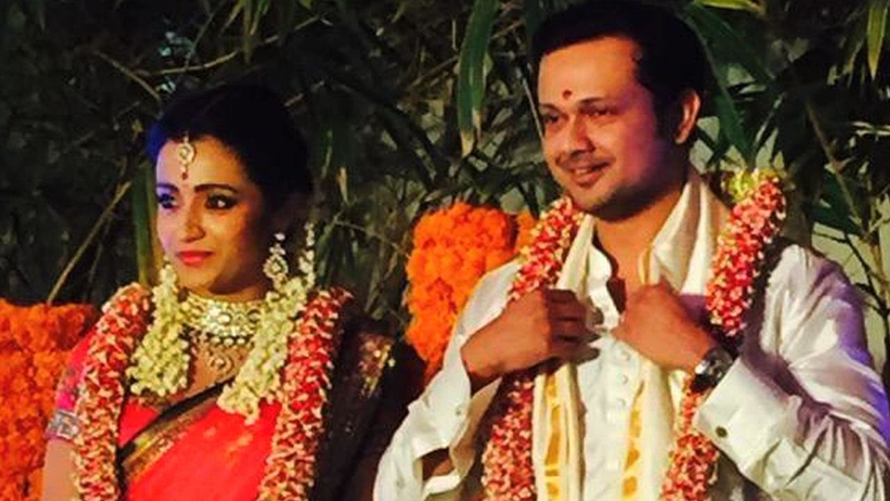 Watch Actress Trisha Krishnan Engagement Ceremony