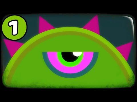 ЛИЗУН ГЛАЗАСТИК съел все вокруг игра Tales From Space Mutant Blobs Attack на канале Мистер Игрушкин