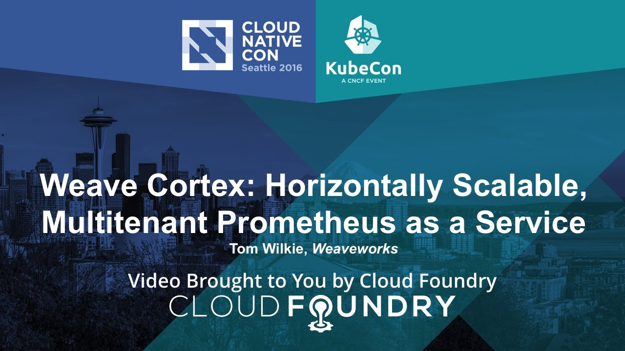 Cortex: Stateful Prometheus Monitoring for Multiple Clients - The