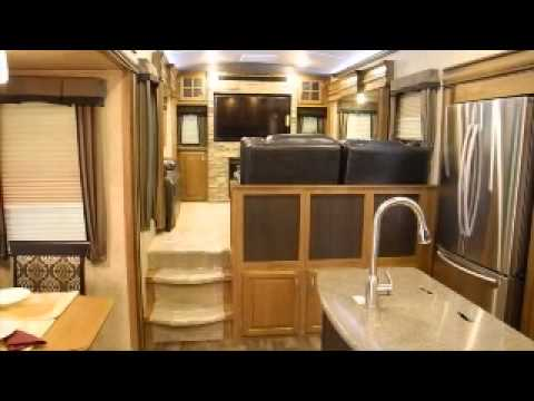 2015 Keystone Montana 3791RD Cool New Floorplan Raised Living Room Fifth Wheel RV I94RV