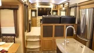 *SOLD* 2015 Keystone Montana 3791RD Cool New Floorplan Raised Living Room Fifth Wheel RV i94RV.com