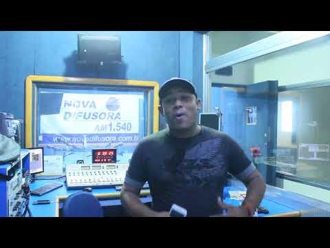 Wellington de Andrade na Radio Nova Difusora de Osasco