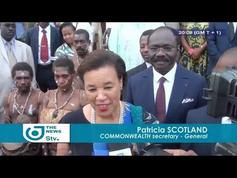 STV NEWS 08:00 PM - (Patricia SCOTLAND in CONTACT with the CAMEROONIAN CULTURE) - 20 December 2017