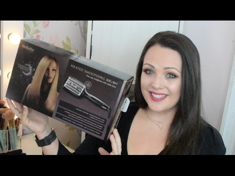 First Impressions Of The Babyliss Heated Smoothing Brush / The Beautiful Truth