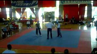Albena Malcheva - Taekwon-Do ITF - kickboxing fight(, 2010-07-10T20:28:29.000Z)