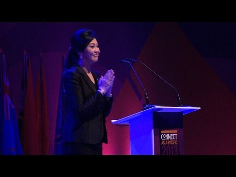 H.E Ms Yingluck Shinawatra, Prime Minister, Thailand - speech @ ITU Connect Asia-Pacific 2013 Summit
