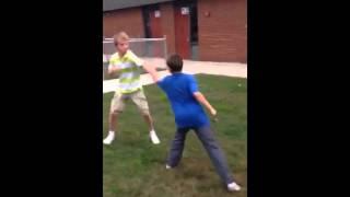 Random fight I filmed with friends