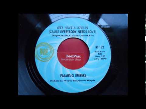 flaming embers - let's have a love in