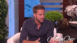 Ellen show season 15   justin Hartley and Jordan fisher his partner