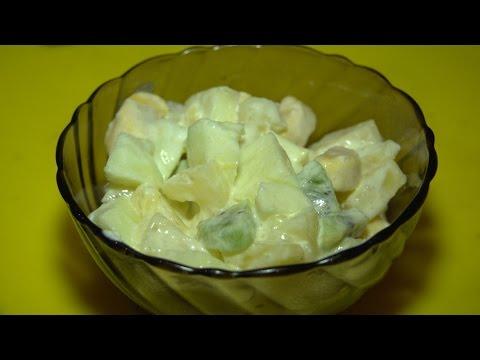 Готовим вкуснейший фруктовый салат [HD]