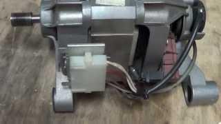 видео Подключение электродвигателя от стиральной машины + схема (мотора)