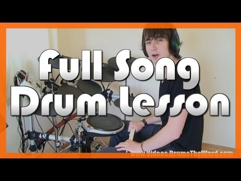 ★ Dani California (Red Hot Chili Peppers) ★ Drum Lesson PREVIEW   How To Play Song (Chad Smith)