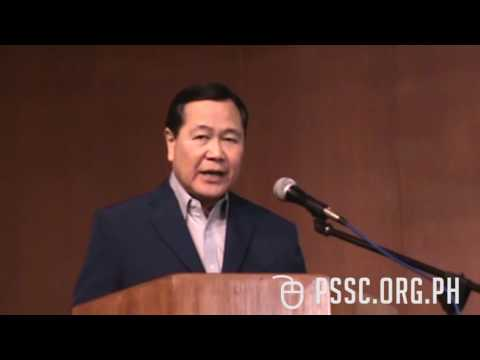 West Philippine Sea Lecture by Senior Assoc. Justice Antonio Carpio (PART FOUR)