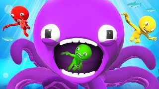 99% Will NOT SURVIVE The ANGRY SQUID! (Party Panic)