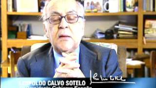 Leopoldo Calvo Sotelo felicita al Rey en su 70 cumpleaños