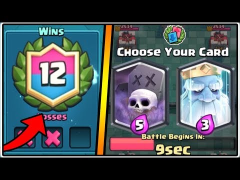 12 WINS GRAVEYARD DRAFT CHALLENGE | CLASH ROYALE | FREE LEGENDARY CARD!