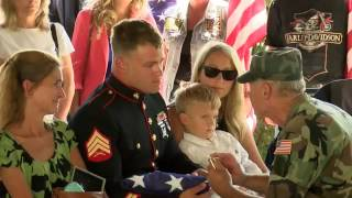 Military Dog Honored at special ceremony at Camp Nelson