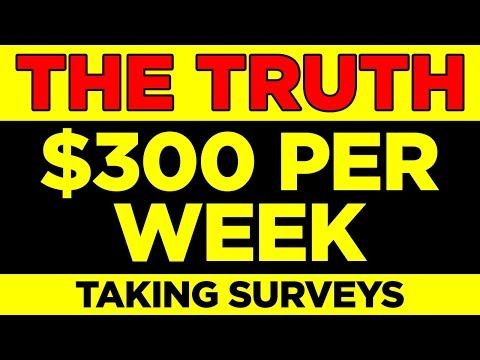 Earn Per Week - Best Paid Surveys For Money (Top 3 sites)