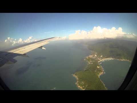 Landing in koh samui THAILAND