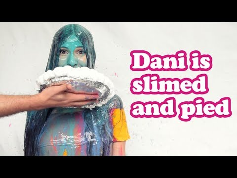 Dani is slimed and pied