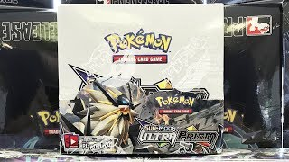 Opening a Pokemon Ultra Prism Booster Box!!