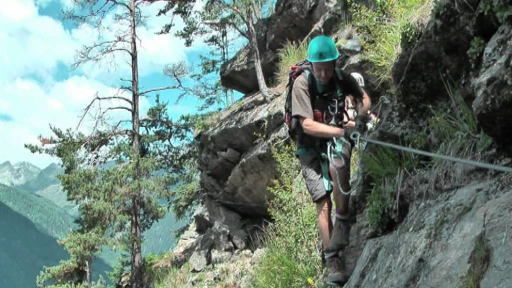 Mindelheimer Klettersteig Unfall : Stuibenfall klettersteig youtube