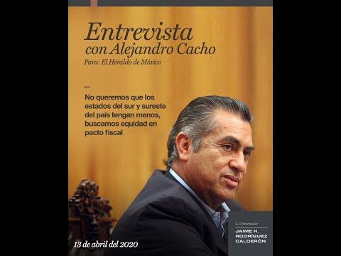 Entrevista con Alejandro Cacho para el Heraldo de México