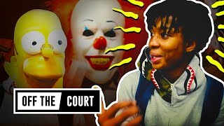 Can 7-Footer Moses Brown Find A HALLOWEEN Costume!? BLASTS EVERYONE 😂