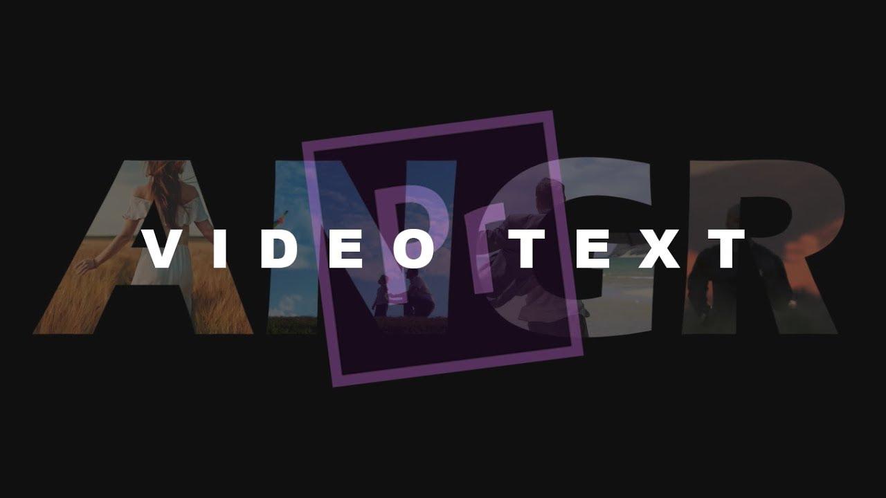 Tutorial Membuat Video Text Adobe Premiere Pro Indonesia Youtube