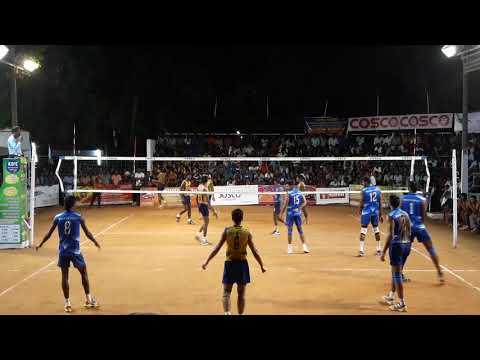 Bpcl Cochin # kalady Trivandrum #all Kerala volleyball tournament