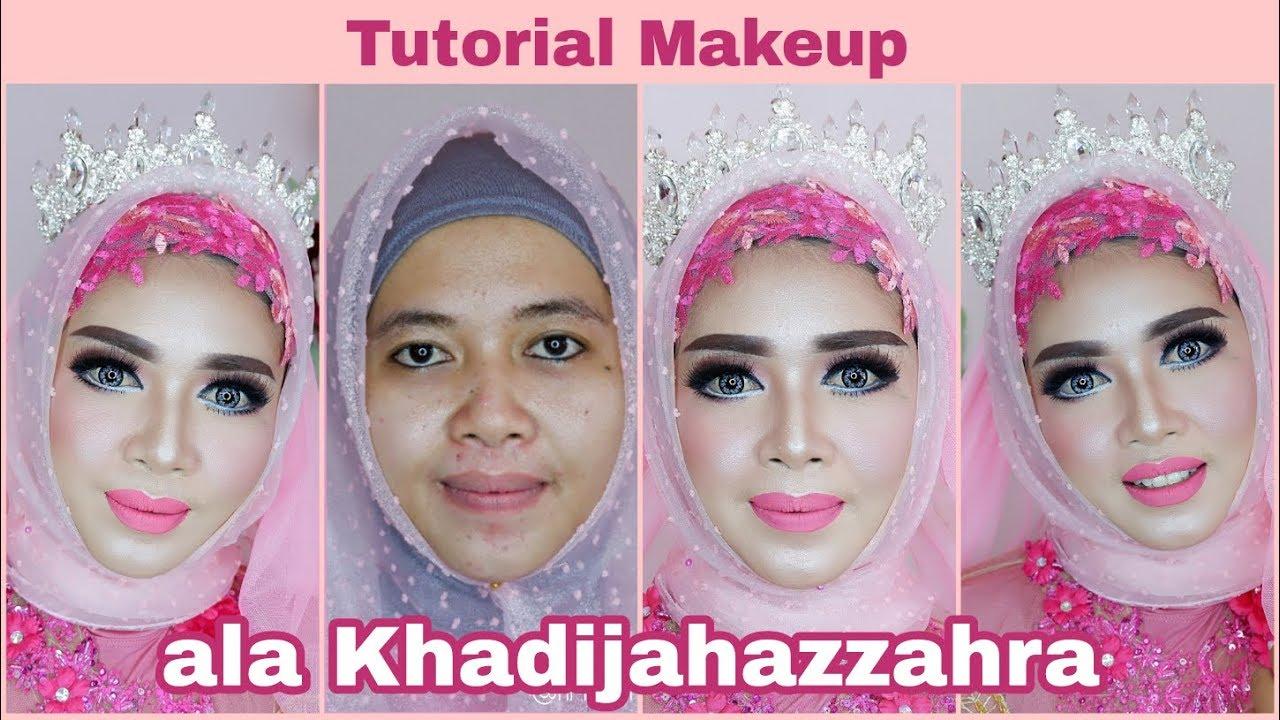 Tutorial Makeup Barbie Ala Khadijah Azzahra Wedding Jaman Now By