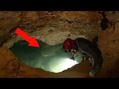 İçinde Yaratıkların Bulunduğu Ürpertici Bir Mağara - KİMSE GİRMEYE CESARET EDEMİYOR.