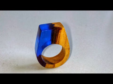 How To Make Resin Ring From Epoxy Resin And Wood | Ring | Resin Craft | Art