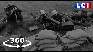 VIDÉO 360 - Centenaire de l'armistice : plongée au coeur de la guerre 14-18 avec les Poilus